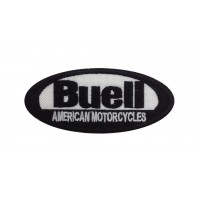 1324 Embroidered patch 10x4 BUELL AMERICAN MOTORCYCLES