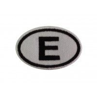 1327 Patch emblema bordado 8X5 E ESPANHA