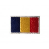 1328 Embroidered patch 6X3,7 flag ANDORA