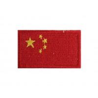 1330 Patch emblema bordado 6X3,7 bandeira RP CHINA