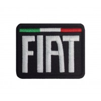 1337 Embroidered patch 7x6 FIAT ITALY