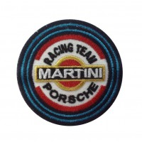1338 Patch emblema bordado 7x7 PORSCHE MARTINI RACING TEAM