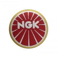 1342 Patch emblema bordado 7x7 NGK SPARKS PLUGS
