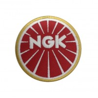1342 Embroidered patch 7x7 NGK SPARKS PLUGS