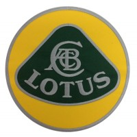 1343 Embroidered patch 22x22 LOTUS