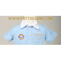 1351 Polo enfant ASTON MARTIN TEAM GULF LE MANS Premium Quality