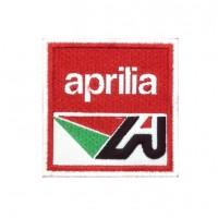 1354 Embroidered patch 7x7 APRILIA