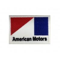 1358 Patch emblema bordado 8X5 AMERICAN MOTORS
