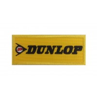 0744 Patch écusson brodé 10x4 DUNLOP