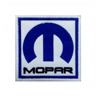 1359 Embroidered patch 7x7 MOPAR
