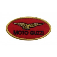 1363 Embroidered patch 9x5 MOTO GUZZI