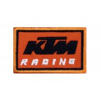 1365 Embroidered patch 6X4 KTM RACING