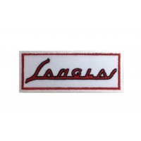 1367 Patch emblema bordado 10x4 SANGLAS
