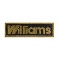 1369 Patch emblema bordado 10x3 WILLIAMS