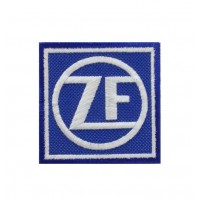 0633 Embroidered patch 7x7 ZF