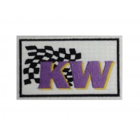 01375 Embroidered patch 10x6 KW