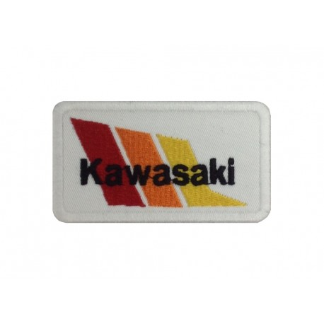 1376 Embroidered patch 8X5 KAWASAKI