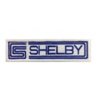 1378 Patch emblema bordado 11X3 CS CARROLL SHELBY AC COBRA