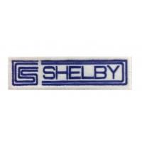 1378 Patch emblema bordado 11X3 CS CARROLL SHELBY AC COBRA