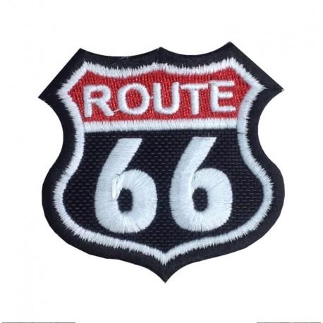 1380 Patch emblema bordado 6X6 ROUTE 66