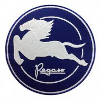 1387 Embroidered patch 22x22 PEGASO