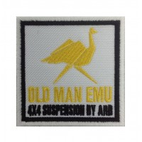 1390 Patch emblema bordado 7x7 OLD MAN EMU 4X4 SUSPENSION BY ARB