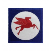 1391 Embroidered patch 7x7 PEGASUS MOBIL