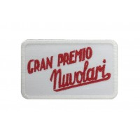1394 Embroidered patch 8x6 GRAN PREMIO NUVOLARI