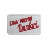 1394 Patch emblema bordado 8x6 GRAN PREMIO NUVOLARI