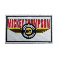 1395 Embroidered patch 10x6 MICKEY THOMPSON TIRES AND WHEELS
