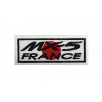 0606 Patch écusson brodé 10x4 MAZDA MX-5 FRANCE