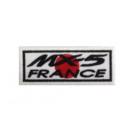0606 Patch emblema bordado 10x4 MAZDA MX-5 FRANCE