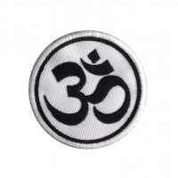 1401 Embroidered patch 7x7 OM YOGA