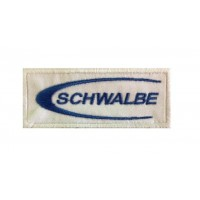 1409 Embroidered patch 10x4 SCHWALBLE