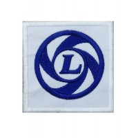 0226 Embroidered patch 7x7 LEYLAND MINI