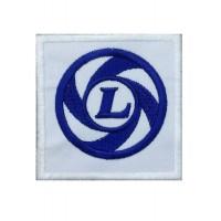 0226 Parche emblema bordado 7x7 LEYLAND MINI