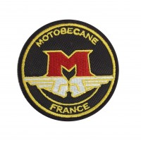 1411 Embroidered patch 7x7 MOTOBECANE FRANCE MBK