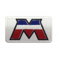 1412 Patch emblema bordado 8X5 MOTOBECANE FRANCE MBK