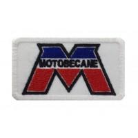 1413 Embroidered patch 8X5 MOTOBECANE FRANCE MBK
