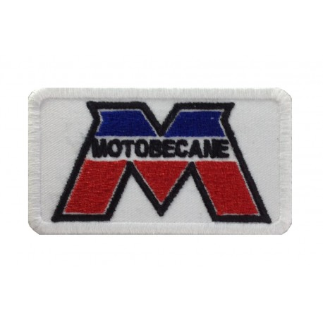 1413 Patch emblema bordado 8X5 MOTOBECANE FRANCE MBK