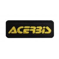 1416 Patch emblema bordado 9X3 ACERBIS