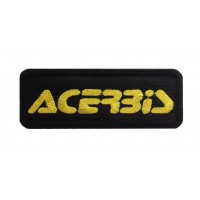 1416 Patch emblema bordado 9X3 ACERBIS