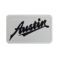 1418 Embroidered patch 9x5 AUSTIN