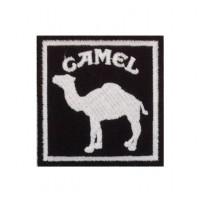 0561 Embroidered patch 7x7 Camel Paris DAKAR