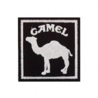 0561 Patch emblema bordado 7x7 Camel Paris DAKAR