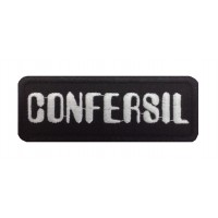 1422 Patch emblema bordado 9X3 CONFERSIL