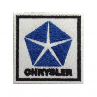 1424 Embroidered patch 7x7 CHRYSLER