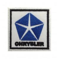 1424 Patch emblema bordado 7x7 CHRYSLER