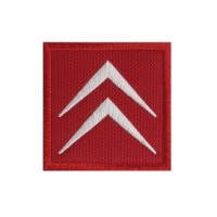 1425 Patch emblema bordado 6X6 CITROEN logo 1985