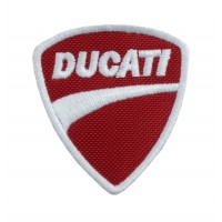 0658 Embroidered patch 6X6 DUCATI CORSE ITALY